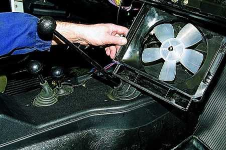 Новый вентилятор отопителя Нива 2121