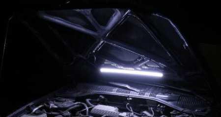 Установка подсветки подкапотного пространства на ВАЗ 2110