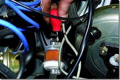 Замена топливного фильтра тонкой очистки ВАЗ 21213, 21214 (Нива)