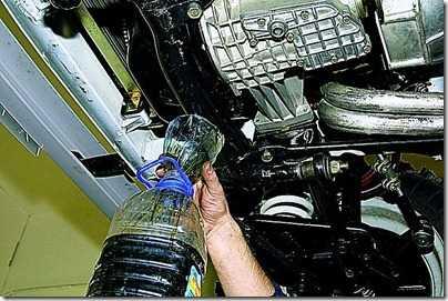 Замена масла в двигателе ВАЗ 21213, 21214 (Нива)