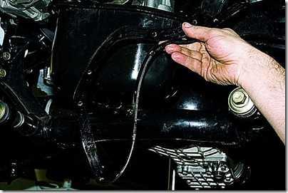 Замена прокладки поддона картера двигателя на автомобиле ВАЗ 21213, 21214 (Нива)