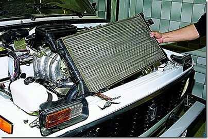 радиатор ВАЗ 21213, 21214 (Нива)