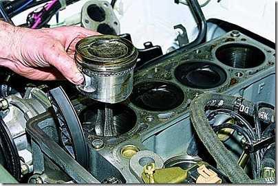 Демонтаж шатунно-поршневой группы (ШПГ) двигателя на ВАЗ 21213, 21214 (Нива)