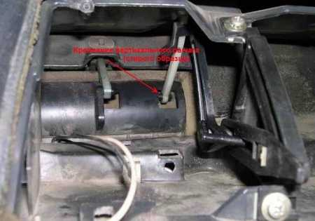 Регулировка заслонок печки на авто Ваз 2110