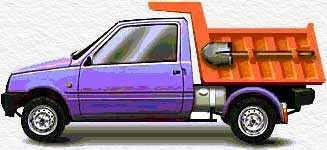 грузовое шасси (самосвал)