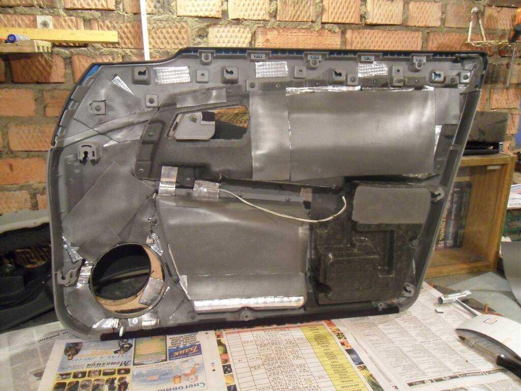 Ремонт обшивки дверей автомобиля своими руками