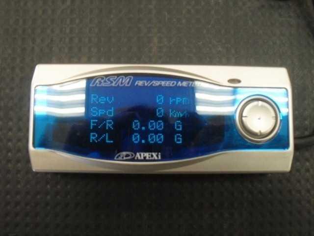 Измерительные приборы: G-Tech/Pro RR & APEXi RSM