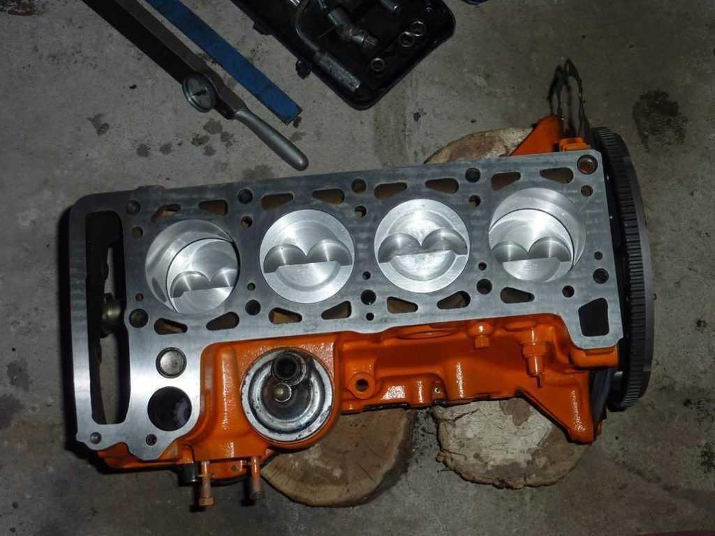 блок цилиндров двигателя ваз 2101 2106 2107