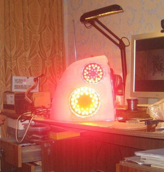светодиодный задний фонарь на ладу приору