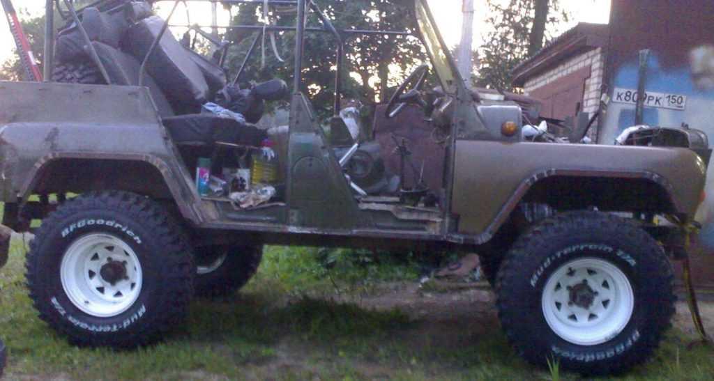 Колеса на УАЗ 31512