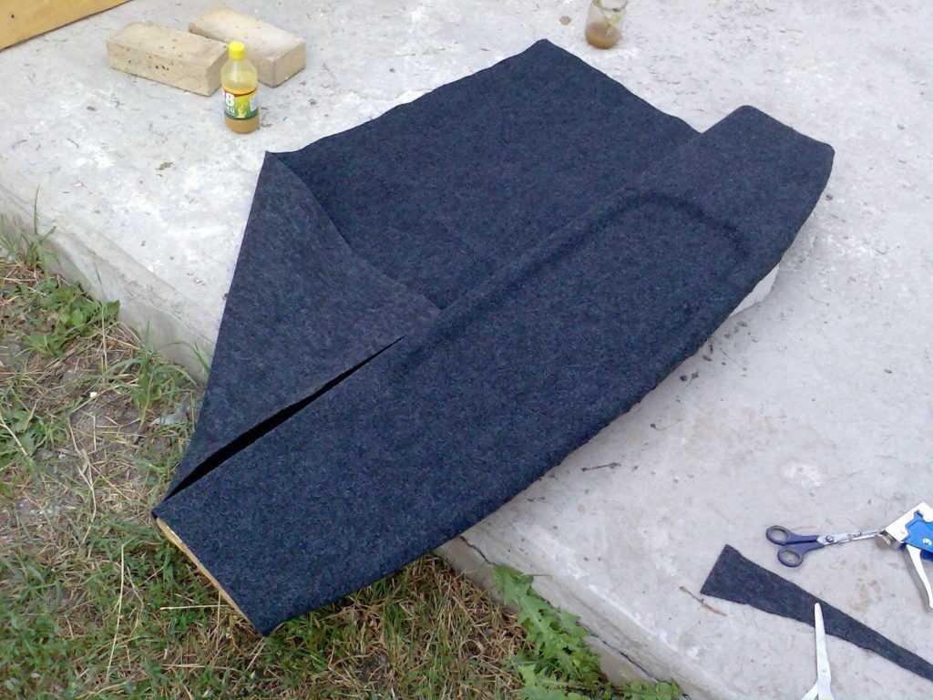обшивка карпетом Газ 3110 Волга