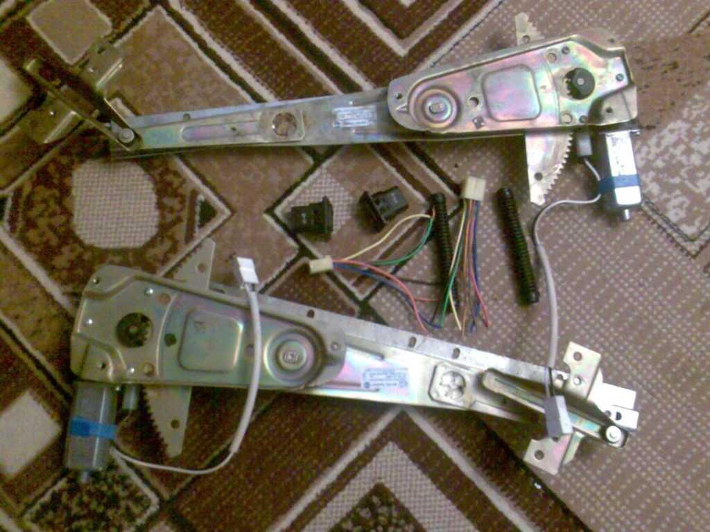 Электростеклоподъёмники на Волгу Газ 3110