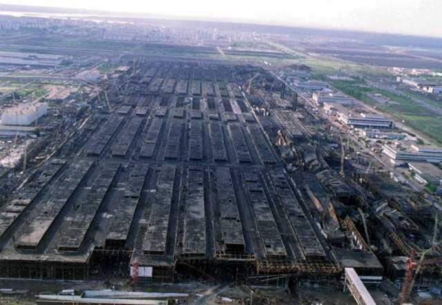 пожар в производственных корпусах камаз