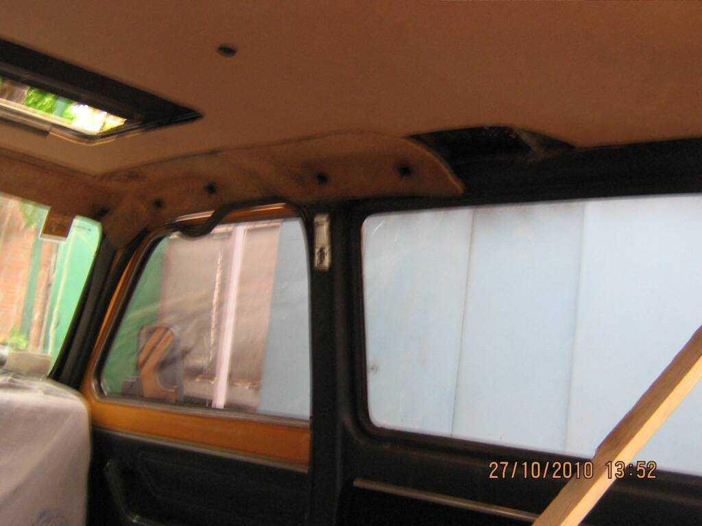 Замена обшивки потолка ВАЗ классики О Ладе 3