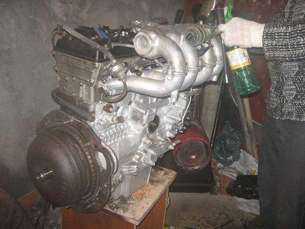двигатель под акпп волги газ 3110