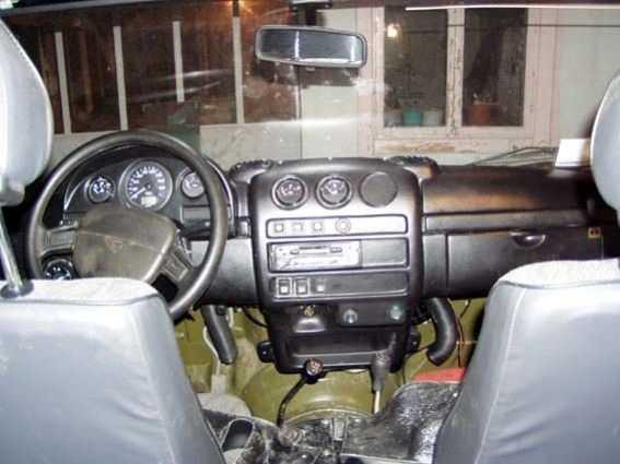 панель Виктория на УАЗ-Hunter