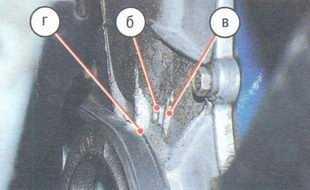 метки на шкиву коленвала и на блоке цилиндров