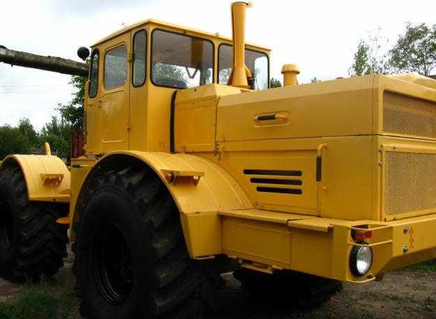 трактор с двигателем ямз