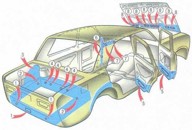 статья про Антикоррозионная защита кузова ВАЗ 2106