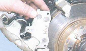 статья про замена тормозных колодок передних колес на автомобиле ваз 2108, ваз 2109, ваз 21099