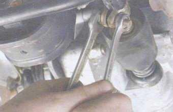 Шток переключения передач ваз 2109