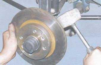 статья про замена тормозного диска на автомобиле ваз 2108, ваз 2109, ваз 21099