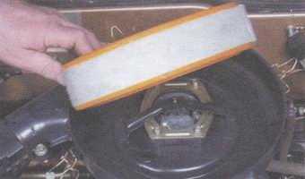 статья про снятие и установка воздушного фильтра  на автомобилях ваз 2108, ваз 2109, ваз 21099