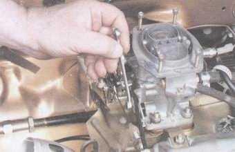 статья про регулировка привода воздушной заслонки карбюратора на автомобилях ваз 2108, ваз 2109, ваз 21099