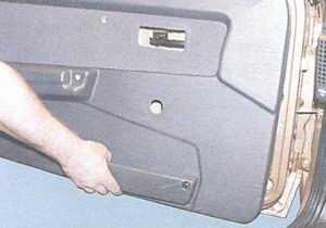 статья про снятие и установка обшивки двери автомобили ваз 2108, ваз 2109, ваз 21099