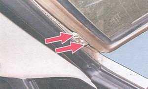 статья про снятие и установка крышки багажника на автомобиле ваз 2108 и ваз 2109
