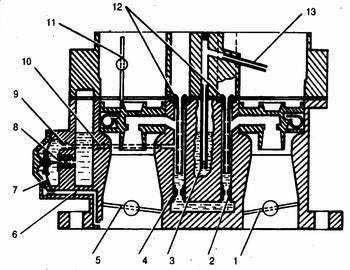 схема эконостата и экономайзера мощностных режимов карбюратора ваз 21083