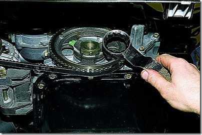 Замена переднего сальника коленчатого вала ВАЗ 21213, 21214 (Нива)