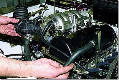 Снятие двигателя с автомобиля ВАЗ 21213, 21214 (Нива)