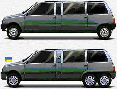 стретч-лимузин (стандартная и специальная модификации)