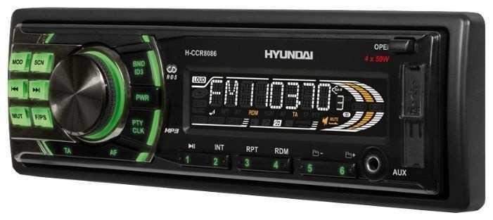 — USB автомагнитола Hyundai H-CCR8086 — 1690р.