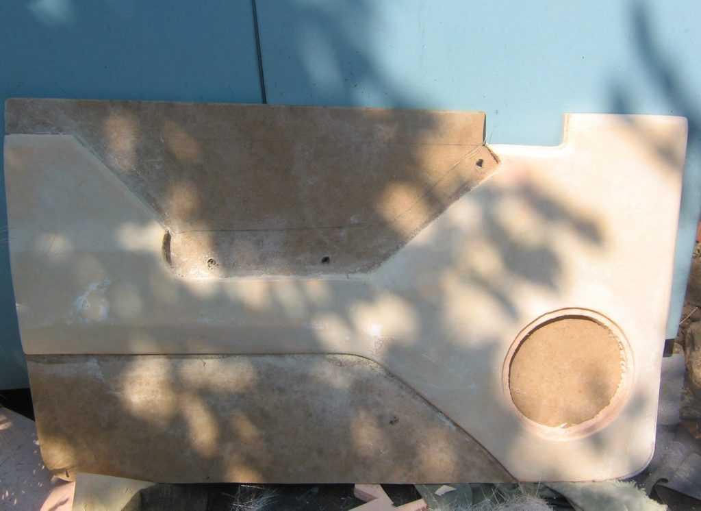 переделка дверных карт нива ваз 21213 2121