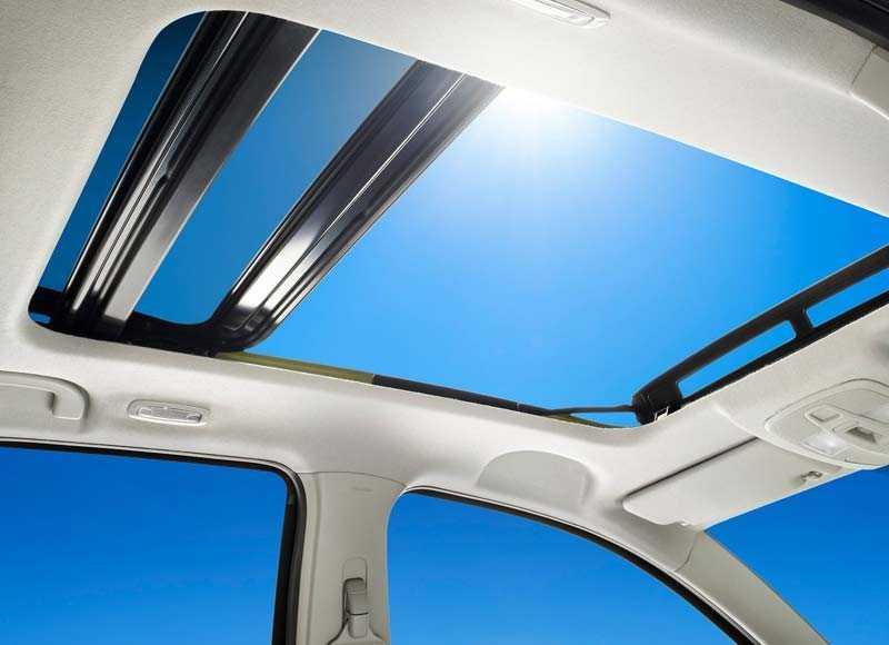 панорамный люк в крыше Suzuki SX4 2014