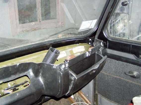 Бардачок УАЗ-Hunter